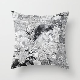Where Dreams Entwine Throw Pillow