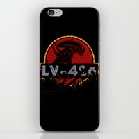 lv iPhone & iPod Skins featuring LV-426 by Crumblin' Cookie