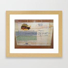 "Jorge art oil painting 36x 42"" painting Framed Art Print"