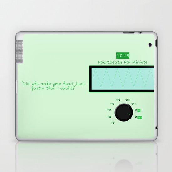 Heart beats per minute  Laptop & iPad Skin
