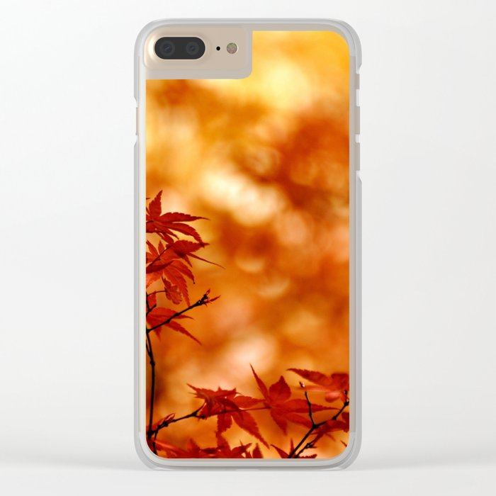 MAPLE MAGIC Clear iPhone Case