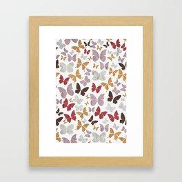 Panapaná II - Butterflies Framed Art Print