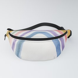 20  | 1903016 Watercolour Abstract Painting | Abstract Arch Fanny Pack
