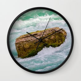 Solid as a rock Wall Clock