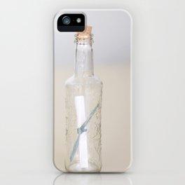 Mensaje  iPhone Case