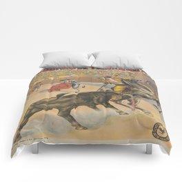 Vintage poster - Course de Taureaux Comforters