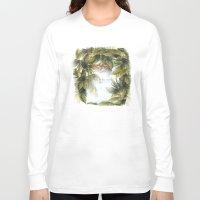 surf Long Sleeve T-shirts featuring surf by ulas okuyucu
