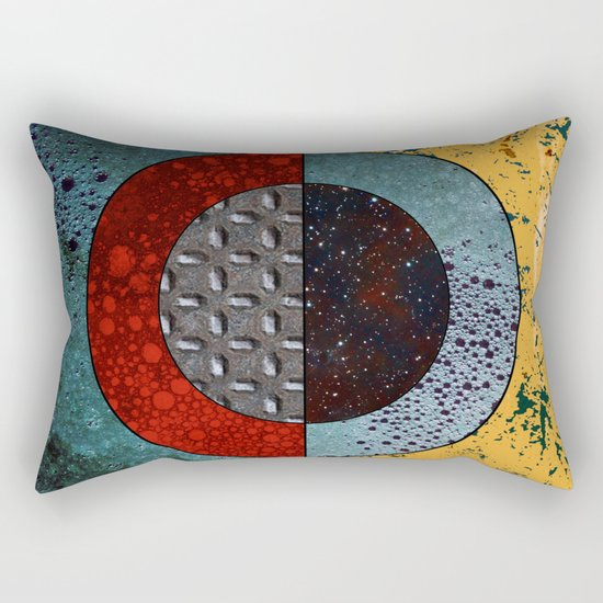Abstract #127 Rectangular Pillow