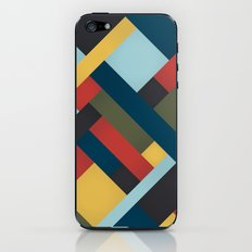 Abstrakt Adventure iPhone & iPod Skin