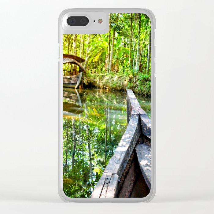 Anaconda Forest Clear iPhone Case