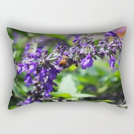 Beauty and the Bee Rectangular Pillow