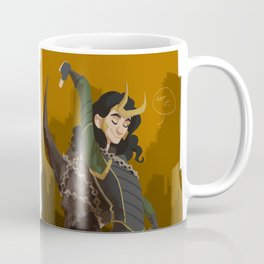 Loki & Crown of Surtur Coffee Mug