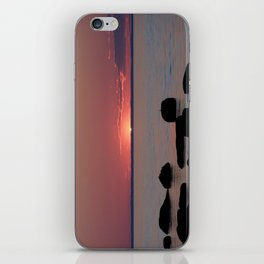 Last Sliver of Sun Light iPhone Skin