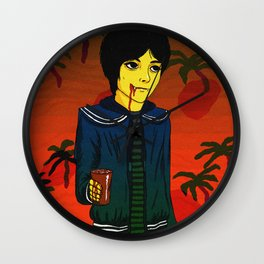 I'm Just Here to Chill Wall Clock