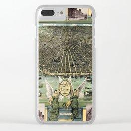 St. Louis 1896 Clear iPhone Case