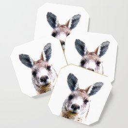 Kangaroo Portrait Coaster