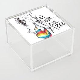 #STUKGIRL Ivie Acrylic Box