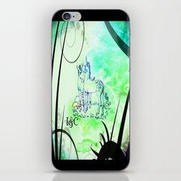 Unicorn Gemini: Blue iPhone Skin