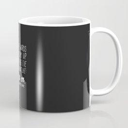 It Goes On. Robert Frost. Coffee Mug