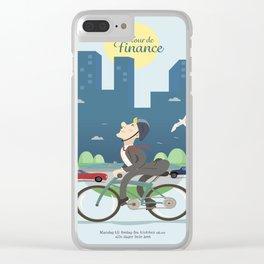 Tour de Finance Clear iPhone Case