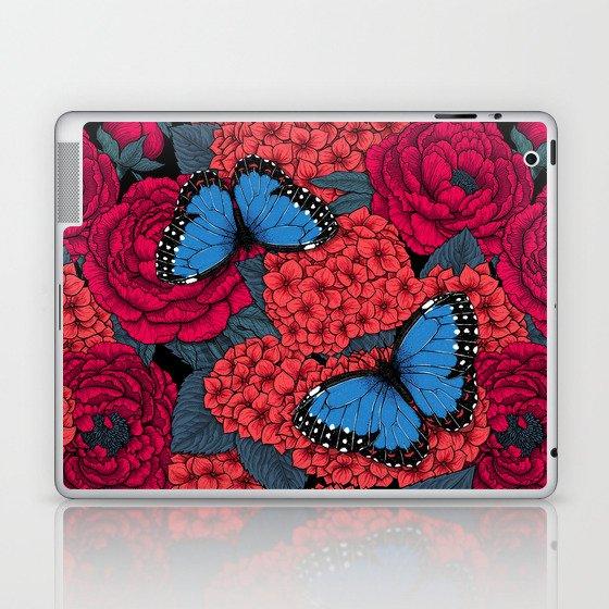 Blue morpho Laptop & iPad Skin