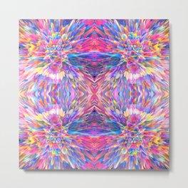 Candy Vortex Quad 4 Metal Print