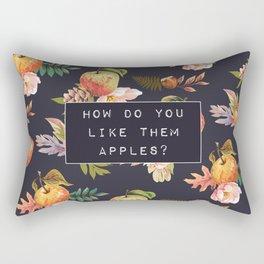 them apples Rectangular Pillow