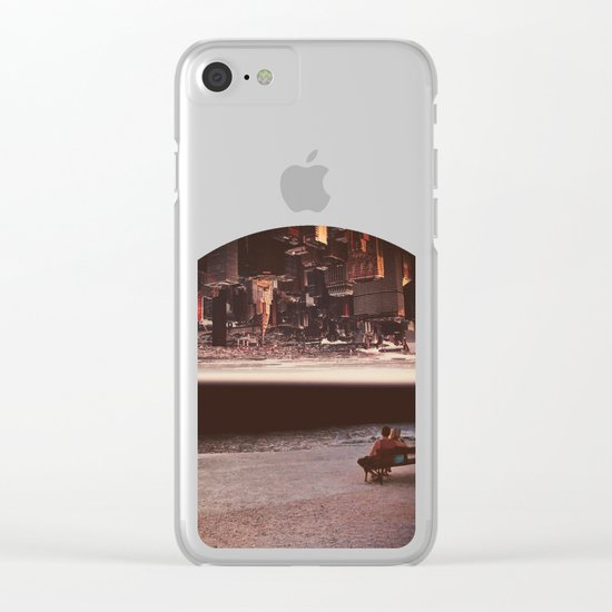 Great Escape Clear iPhone Case