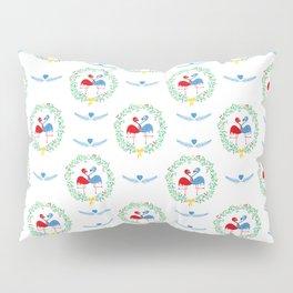 FlamingosTangled in Love Pillow Sham
