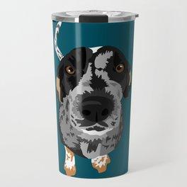 Greta bluetick coonhound Travel Mug