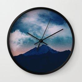 Magic night Wall Clock