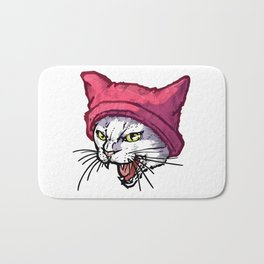 The Cat in the Hat (White) Bath Mat