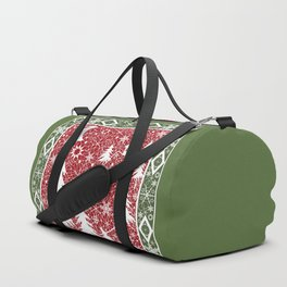 Winter. Christmas. Duffle Bag