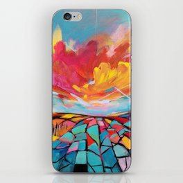 Abstract landscape #2 iPhone Skin