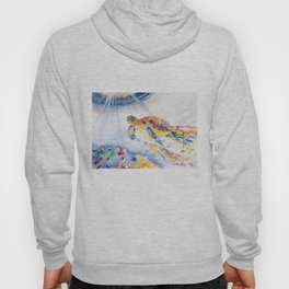 Going Up Sea Turtle Hoody