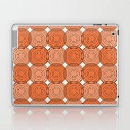 Red & Orange Circles Laptop & iPad Skin