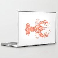 lobster Laptop & iPad Skins featuring Lobster by NoelleGobbi