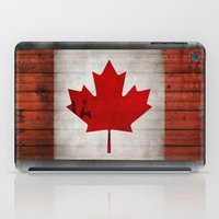 canada iPad Cases featuring Canada by Arken25