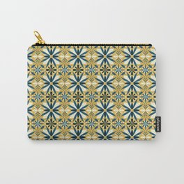 Geometrical flowers Carry-All Pouch