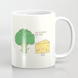 Broccoli and cheese Coffee Mug