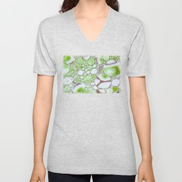 Bubbling Green Unisex V-Neck