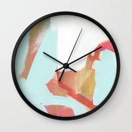 Blue Marsh Wall Clock