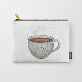 queen anne's lace tea cup - coffee cup series Carry-All Pouch