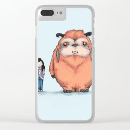 My Neighbor Ludo Clear iPhone Case
