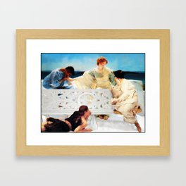 Lack of Privacy Framed Art Print