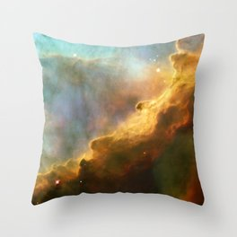 Omega Nebula Throw Pillow