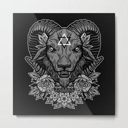 Dark Goat Metal Print