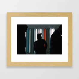 And Just Like That, I Lost You. Framed Art Print