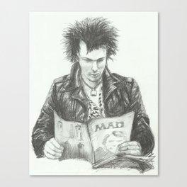 ANALOG zine - Sid Vic Canvas Print