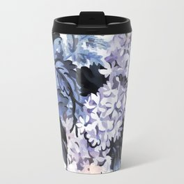 Ultra Violet Floral Travel Mug